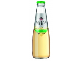 Gazuotas IMBIERINIS gėrimas, Royal Club Ginger Ale, 200ml