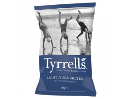 TYRRELLS LIGHTLY SEA SALTEDtraškučiai40g